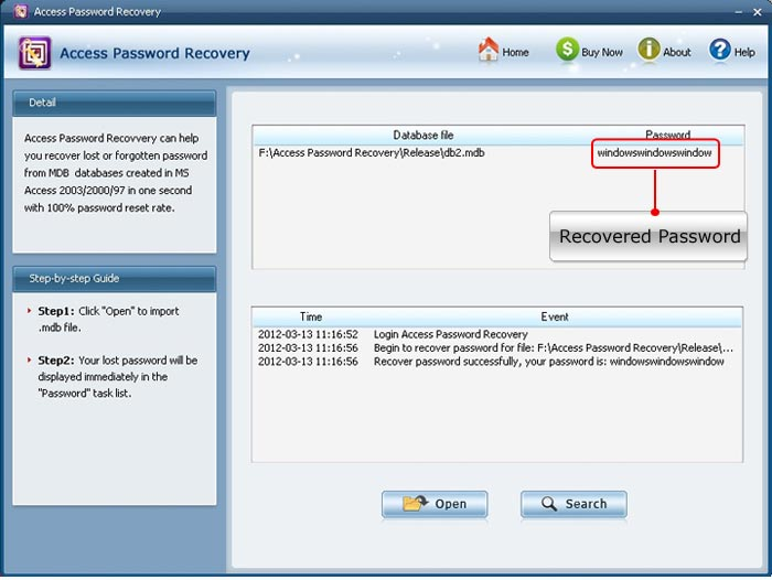 Accent Password Recovery скачать